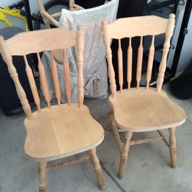 Best 4 Unfinished Wood Chairs Ready For Painting Staining For