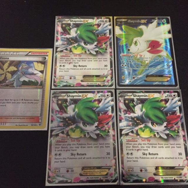 Find More Shaymin Ex Pokemon Cards For Sale At Up To 90 Off