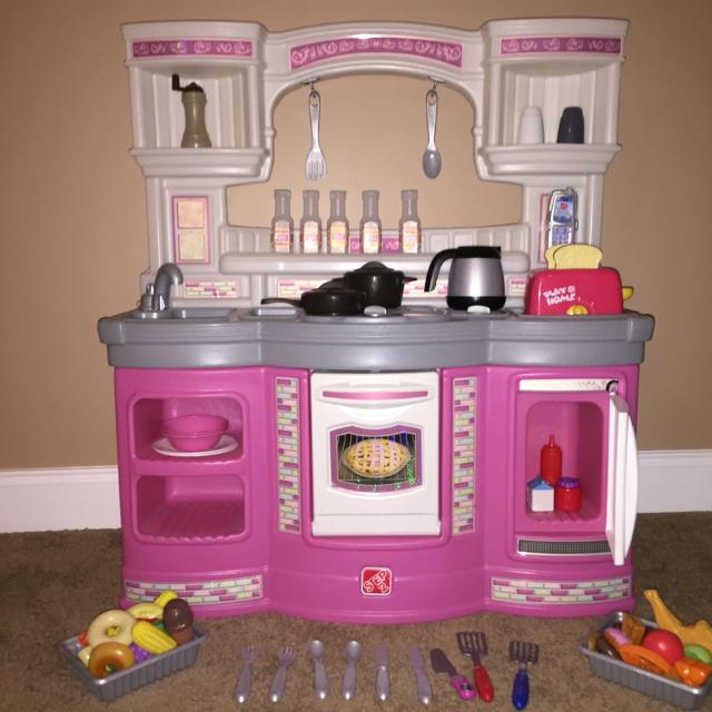 Find More Step 2 Girls Pink Kitchen Set And Accessories Price