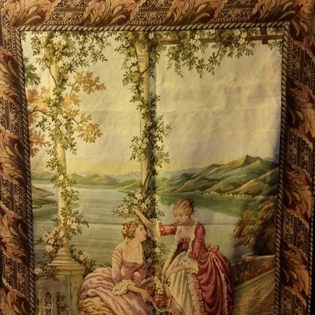 Tapestry 1.14 w 1.60h, jacquard woven... for sale  Canada