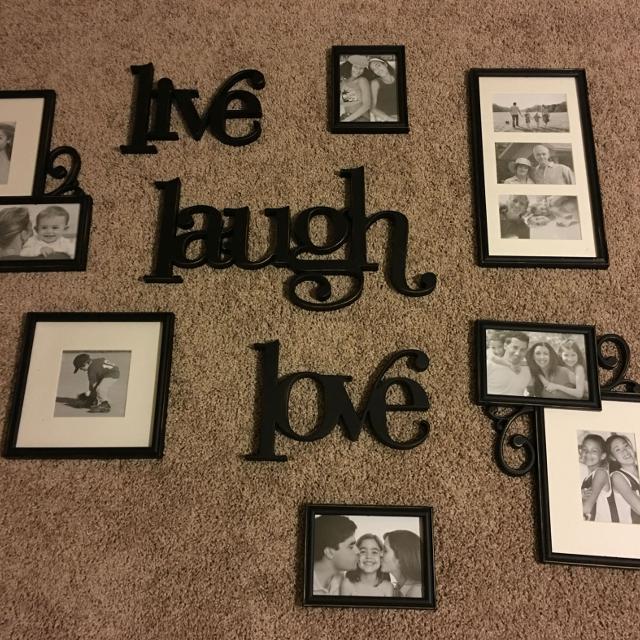 Find More Live Laugh Love Frame Set For Sale At Up To 90 Off