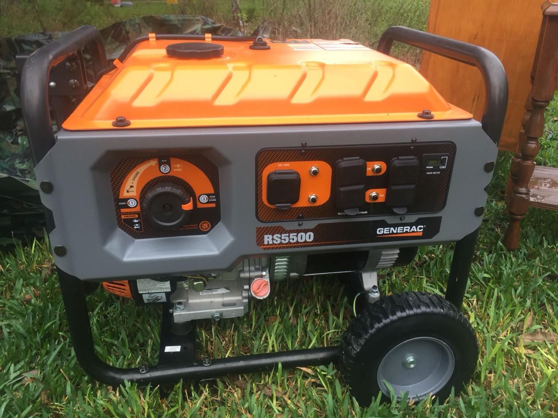 Generac RS5500 generator