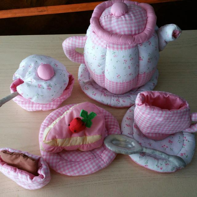 Find More Little Girls Soft Plush Tea Set For Sale At Up To 90 Off