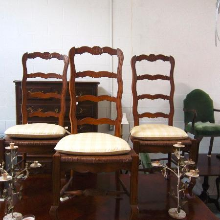 Used, Set of 4 Ladderback Chairs in... for sale  Canada