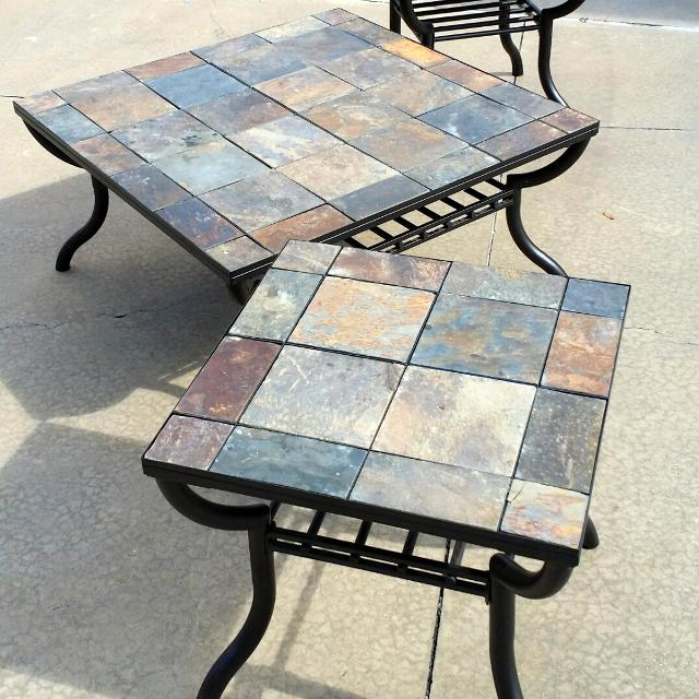 Find more Signature Design By Ashley, Antigo Slate Top Square Coffee ...