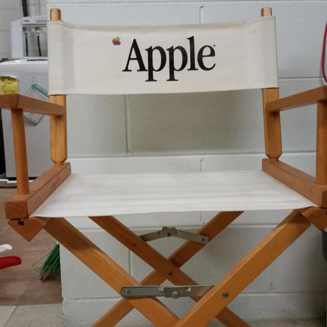 3 Reasons Members Are Addicted - Find More Vintage Director's Chair With The Apple Logo. Excellent