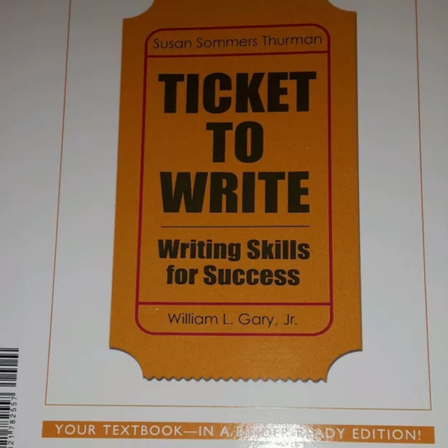 best ticket to write college book for in walden for  ticket to write college book