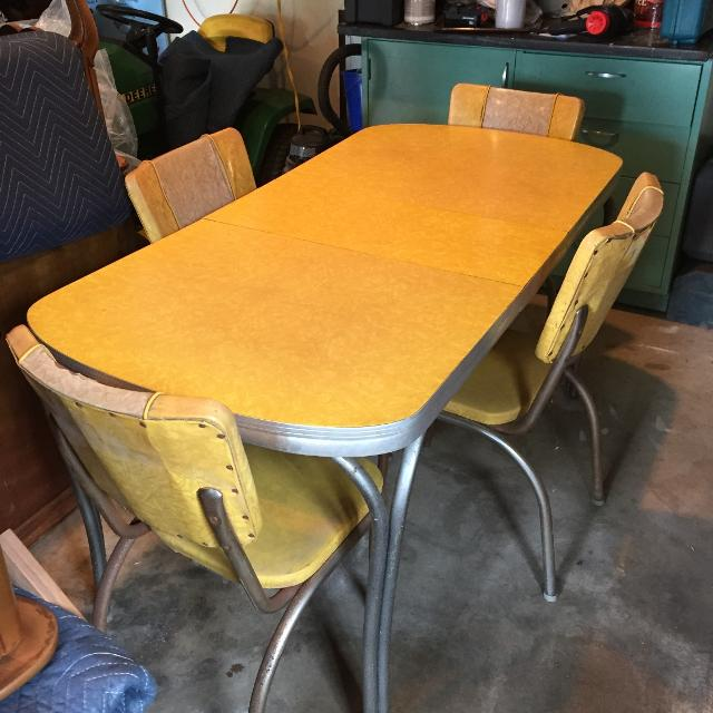 Vintage Kitchen Chairs For Sale: Find More Reduced Retro 1950's Formica And Chrome Table