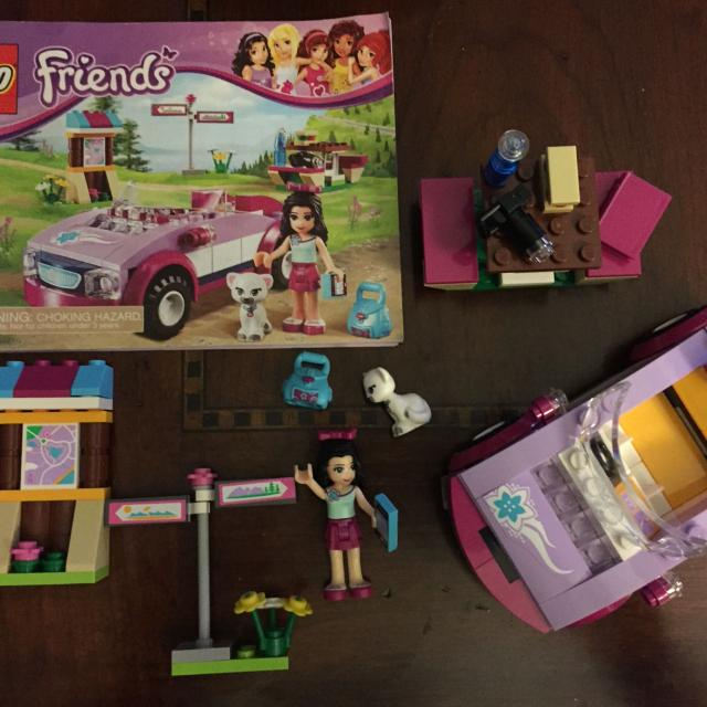 Find More Lego Friends Emmas Sports Car Includes All Pieces And