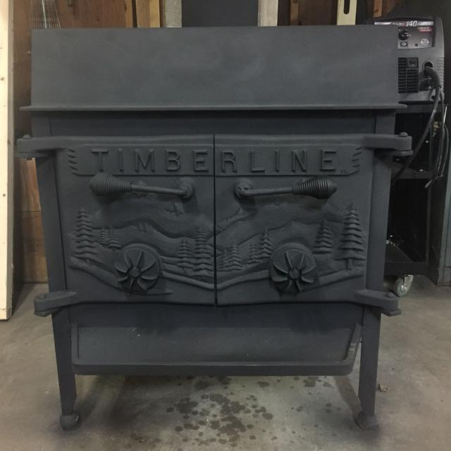 Find More Timberline Wood Stove Perfect Condition 500