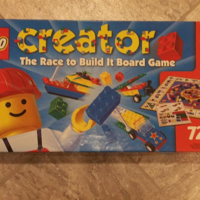 Find More Lego Creator The Race To Build It Board Game For Sale At