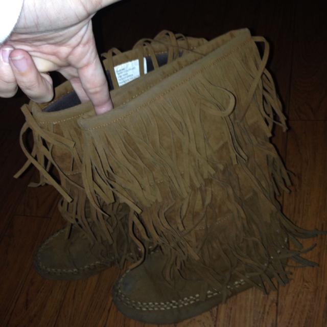 Find more Girls Hotcakes Fringe Boots Camel Brown Size 5 for sale ...