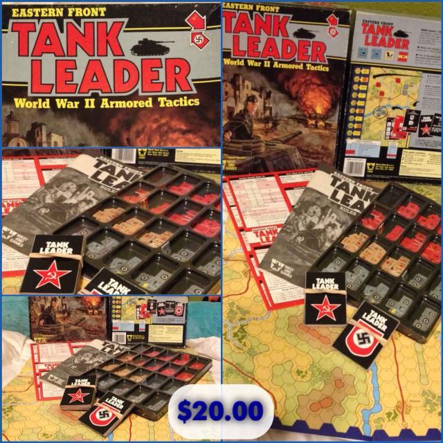 Eastern Front Tank Leader World War II Tactics 1986