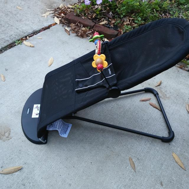 b3bde9b9a2e Find more Baby Bjorn Black Mesh Bouncer Seat With Toy Bar. Pu In ...