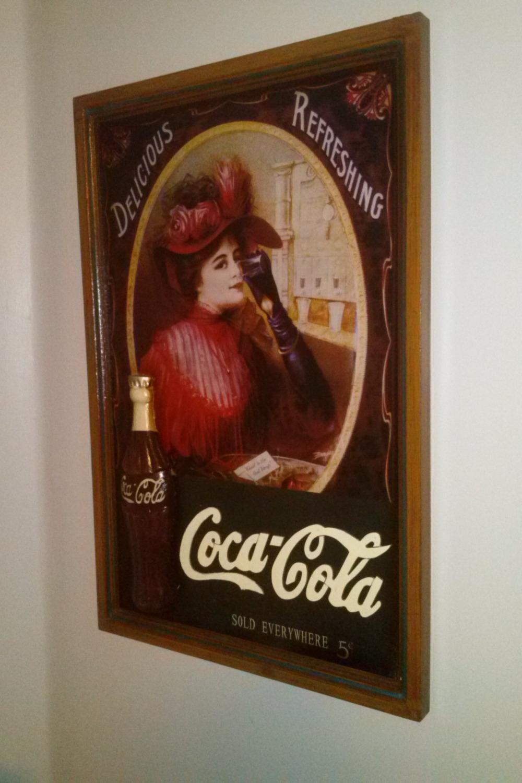 Wooden 3d Coca-Cola Sign