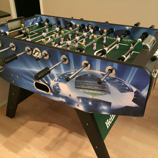 Best Heineken Foosball Table For Sale In Yorkville Ontario For - How much does a foosball table cost