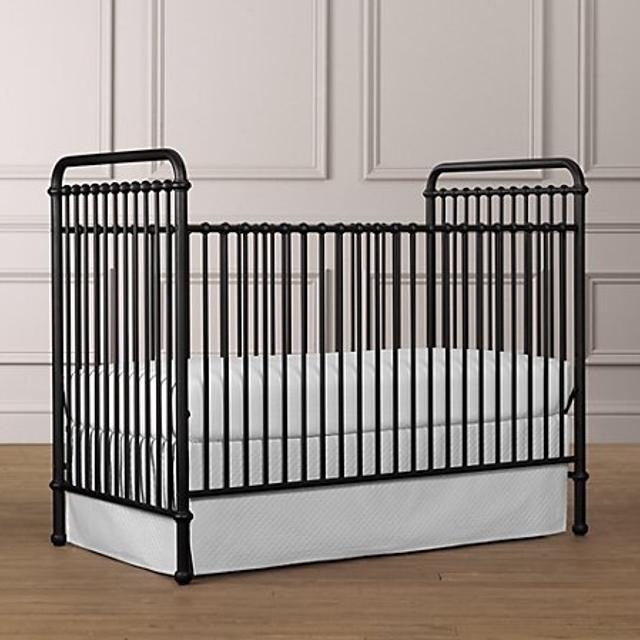 Restoration hardware millbrook iron crib