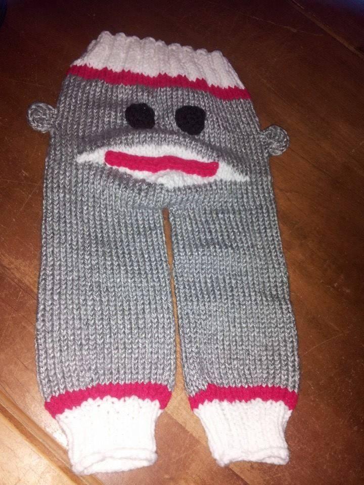 Best Sock Monkey Knit Baby Pants For Sale In Rowlett Texas For 2019