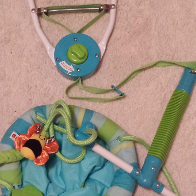 Find more Baby Jumper Swing That Hangs On Door Frame Euc for sale at ...