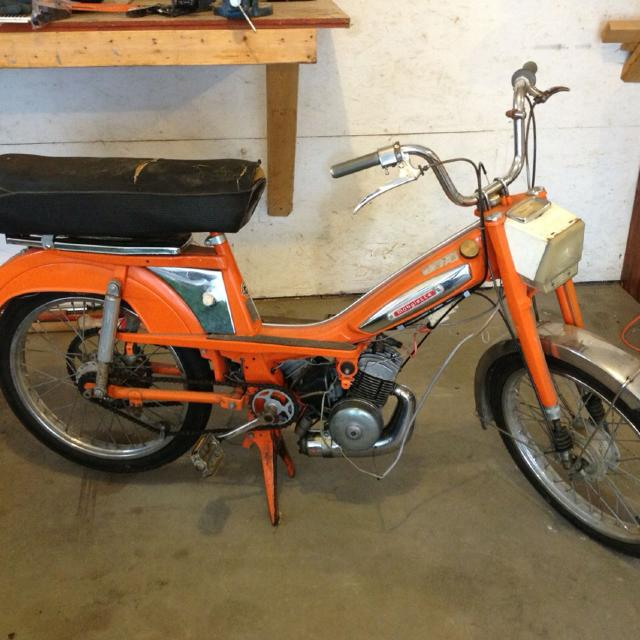 Motobecane Mobylette Moped
