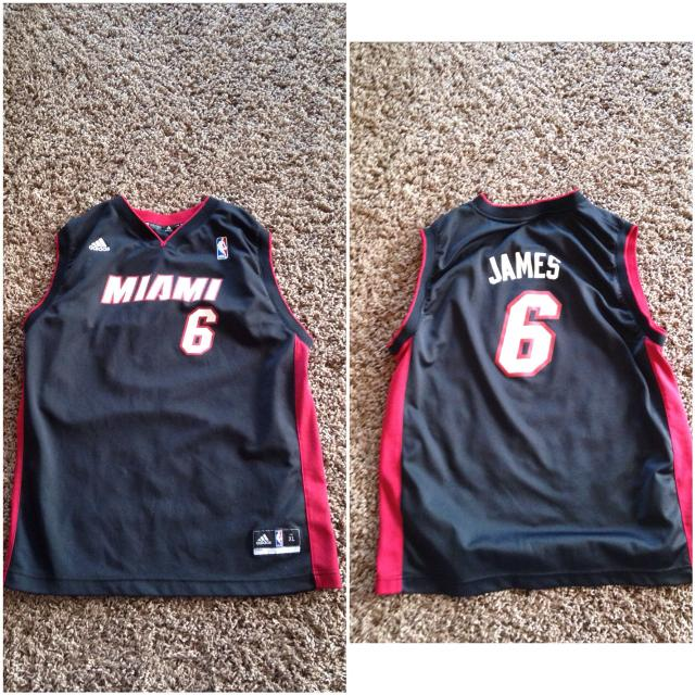 caa9d254a5f Find more Nba Miami Heat Lebron James Jersey for sale at up to 90% off