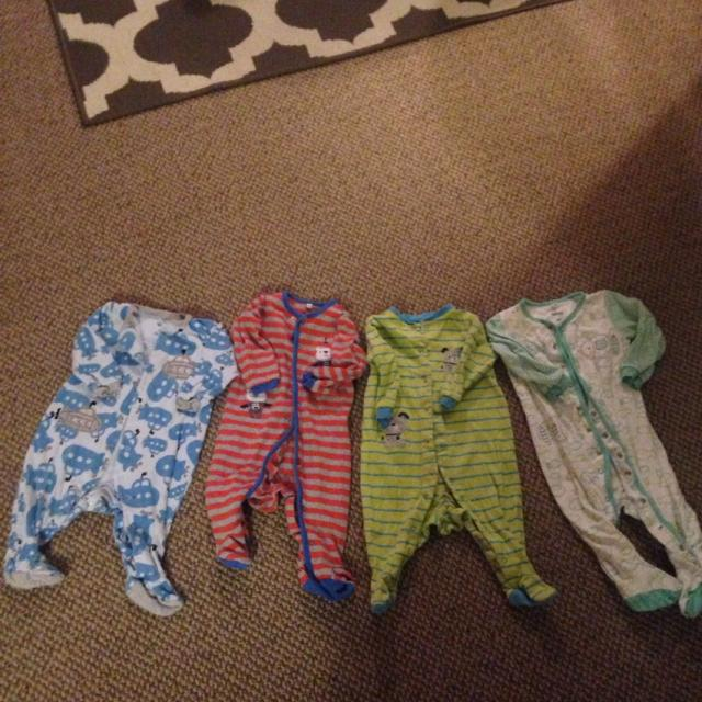 e870e61ea Find more Baby Sleepers. All 3 Size 9 Months. White Sleeper On Far ...