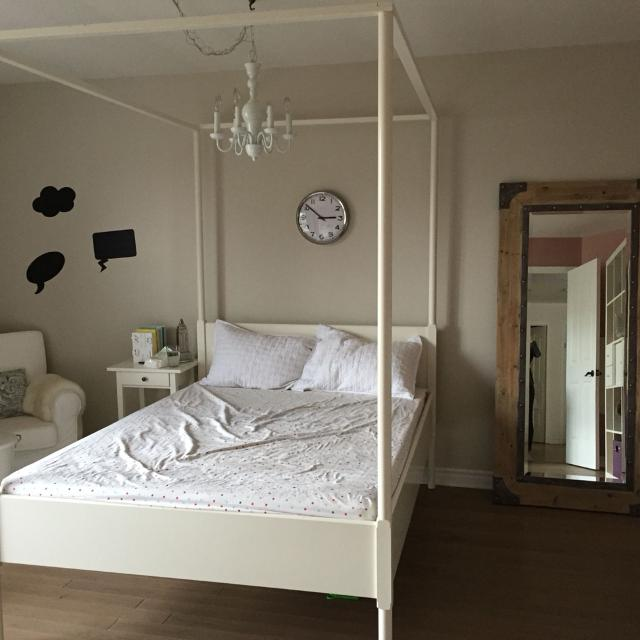 Edland Ikea 4 Poster Double Bed