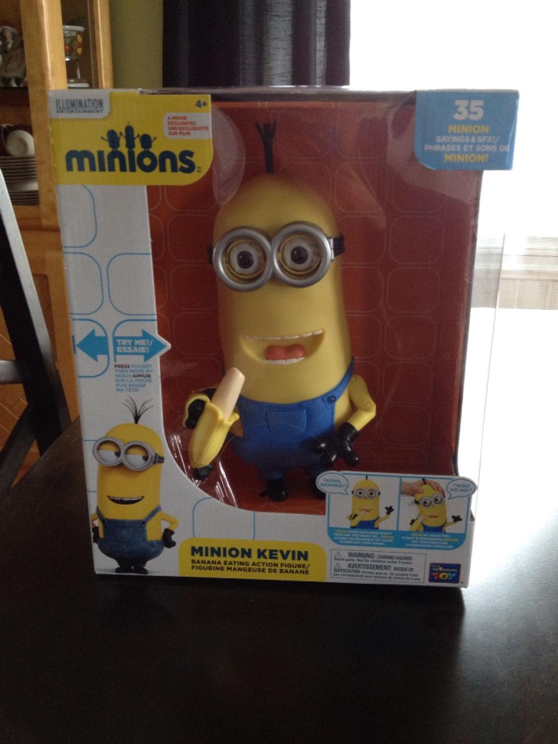 Find More Minion Kevin Banana Eating Action Figure For Sale At Up To 90 Off