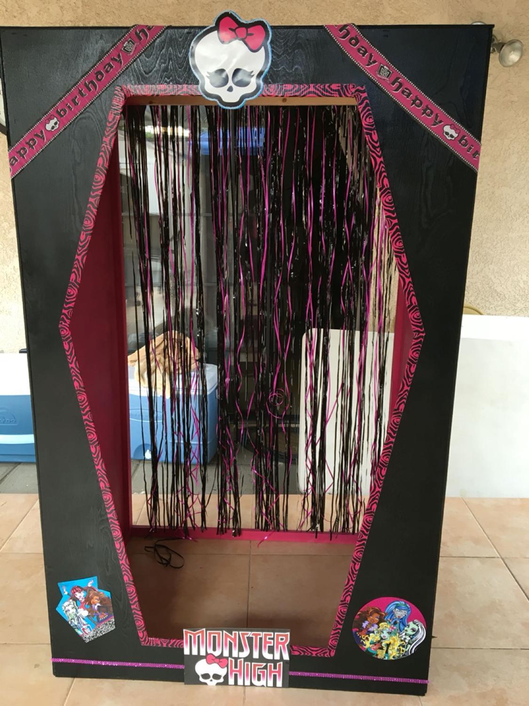 Best Super Cute Monster High Photo Booth 5 Feet Tall 27deep And 38