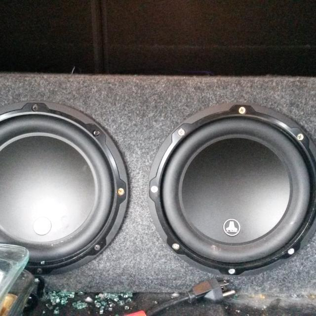 Best 2 jl audio w3 speakers in ported box for sale in brenham 2 jl audio w3 speakers in ported box publicscrutiny Choice Image