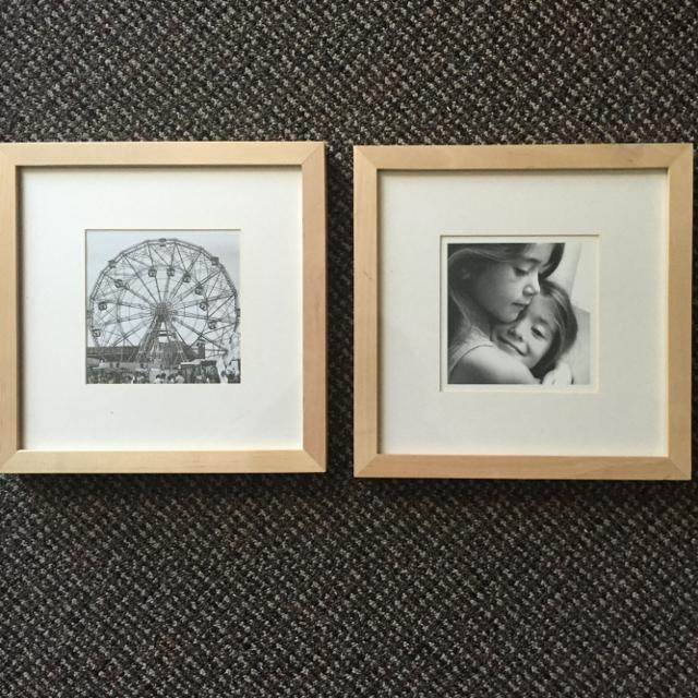 Find more Two Square Birch Ikea Ribba Frames for sale at up to 90% off
