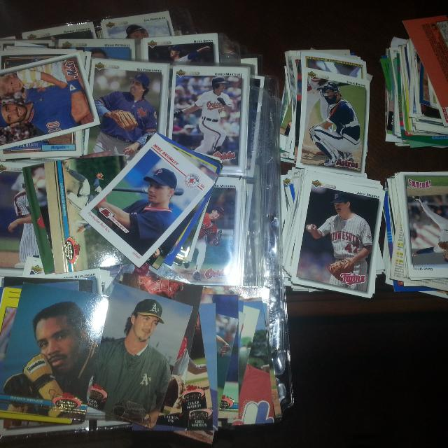 Baseball Cards From 1991 1992