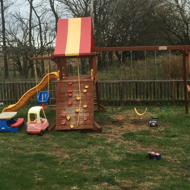 Find More Childlife Swing Set Reduced For Sale At Up To 90 Off