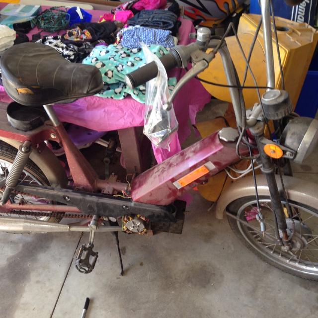 Jawa moped project