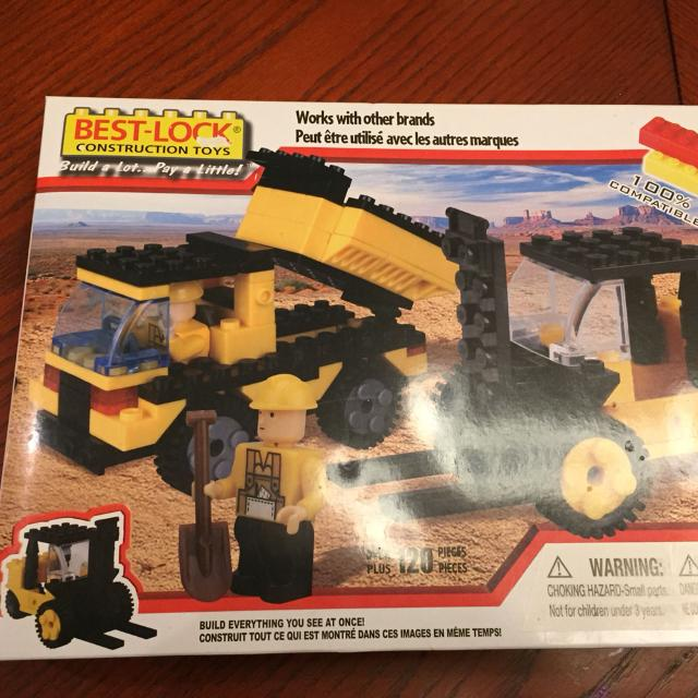 Best-lock construction toys, brand new in box, over 120 pieces, works with  Lego and other brands