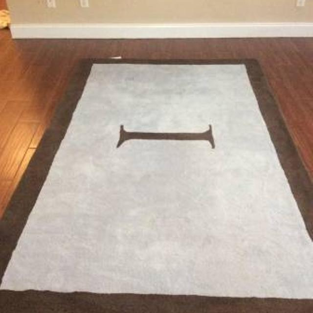 Restoration Hardware Baby And Child Initial Rug