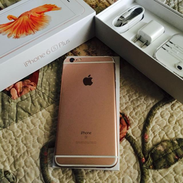 Iphone 6s Plus Rose Gold 64gb Attcricket Brand New 725 Obo