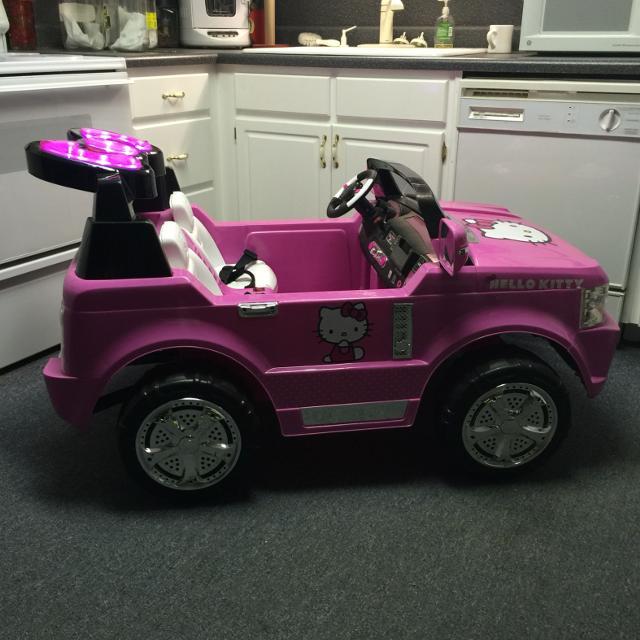 Wheels Hello Kitty Suv