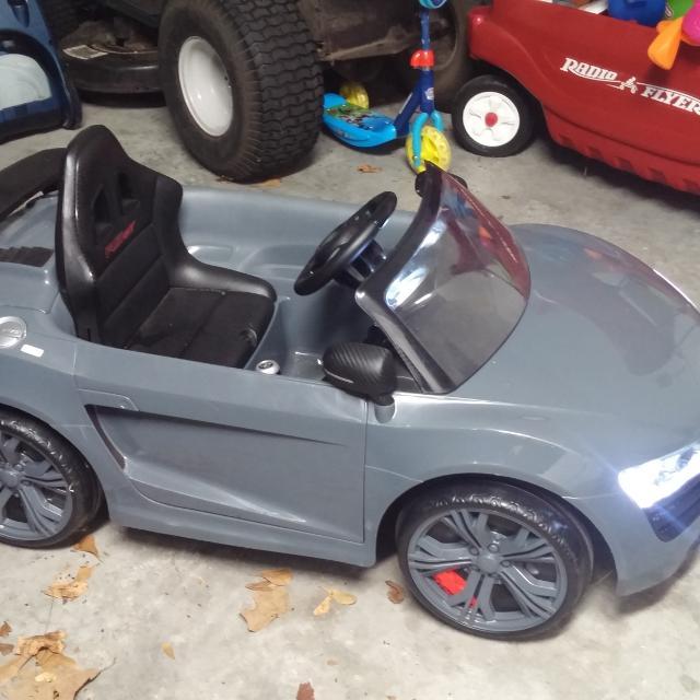 Find More Avigo Audi R Spyder Gt Volt Ride On For Sale At Up To - Audi r8 6v car