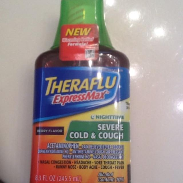 Find More Theraflu Express Max Nighttime Severe Cough And Cold