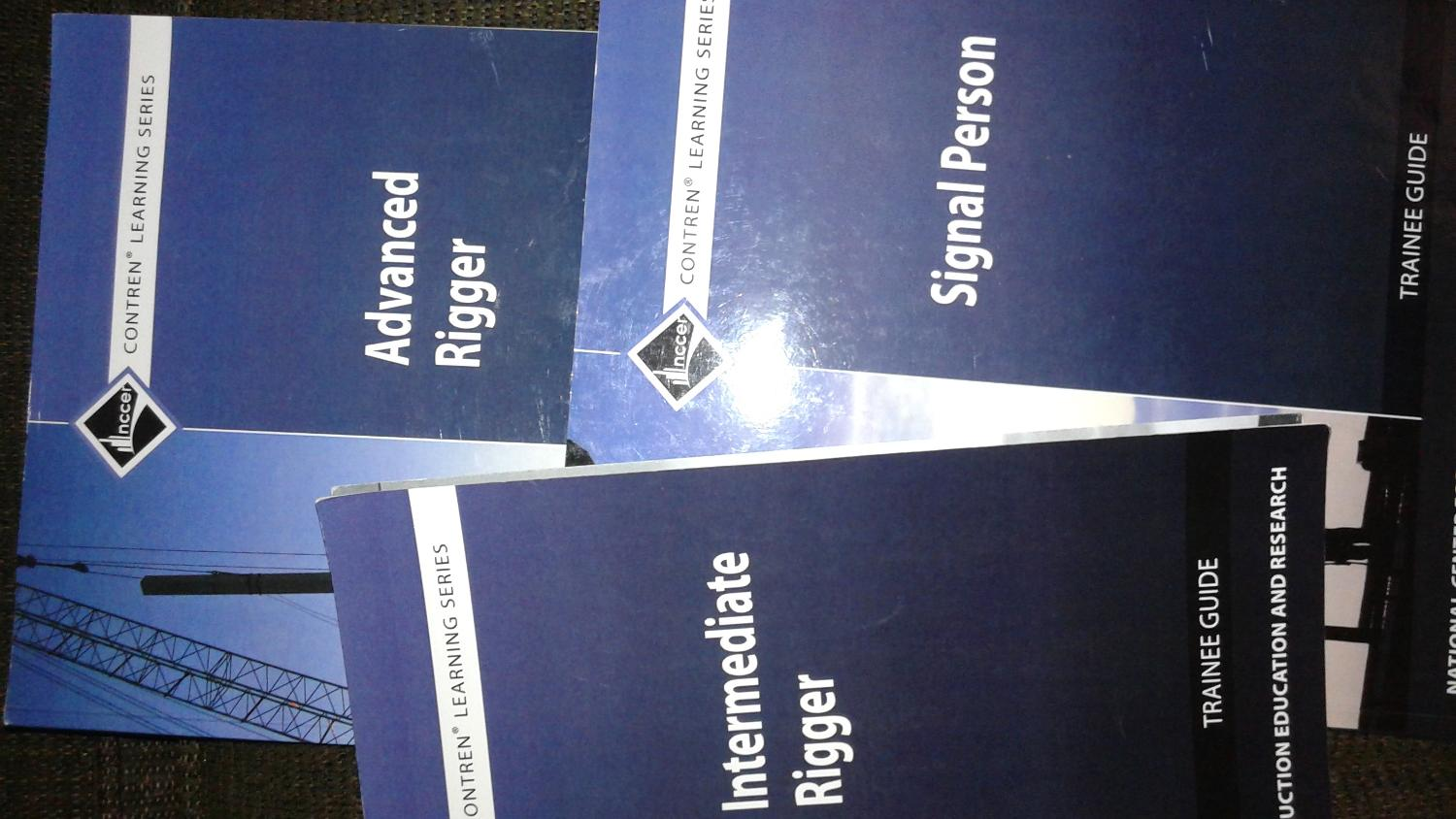 Find more Rigger Books Contren Learning Series Nccer Rigger Books for sale  at up to 90% off