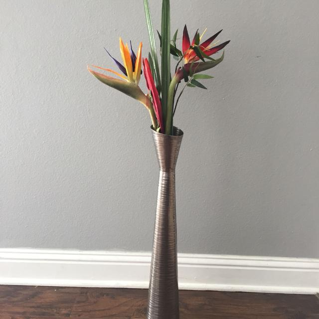 Find more tall floor vase and artificial flowers birds of paradise tall floor vase and artificial flowers birds of paradise swap only mightylinksfo