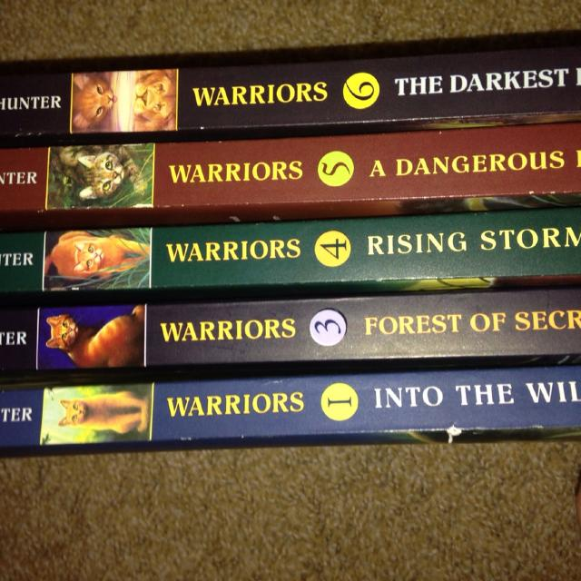 Warriors Book Series Quizzes: Best 5 Warriors Books. Ar Chapter Book Series. $20. South