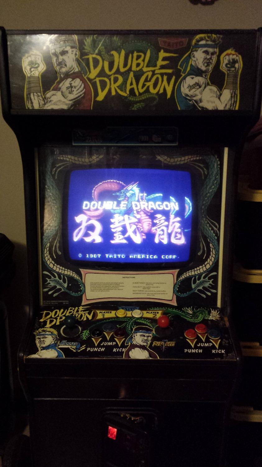Find More Vintage Double Dragon Full Size Arcade Video Game