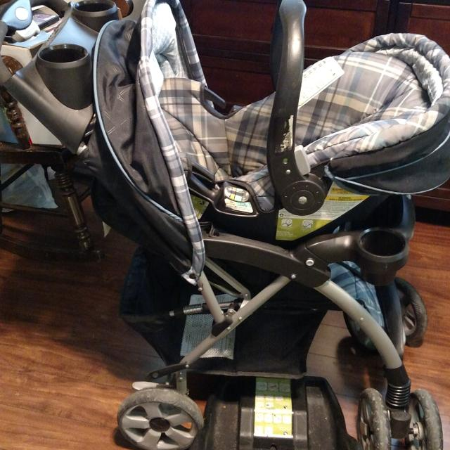 Eddie Bauer Stroller Car Seat And