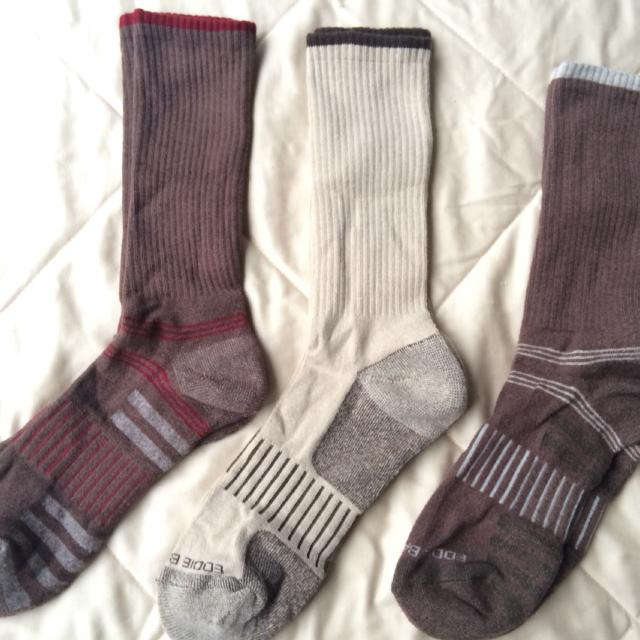 Set of 3 pair, men's Eddie Bauer Socks, NWOT
