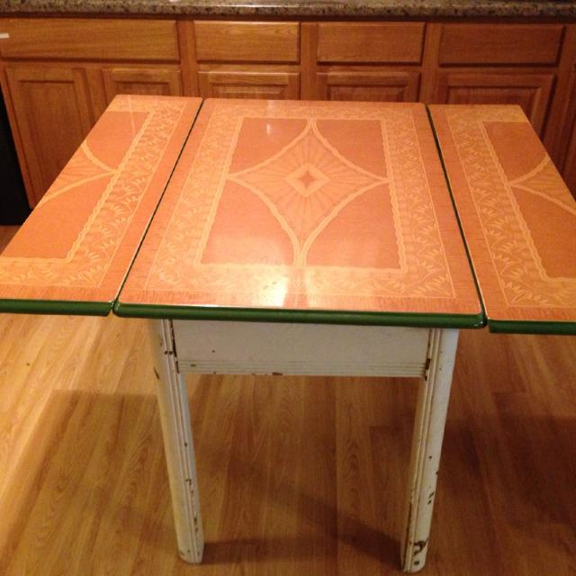 Find More 1940 S Vintage Enamel Top Table For Sale At Up To 90 Off