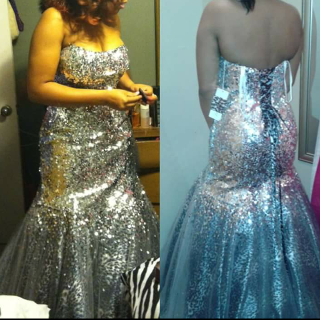dedda5ae1f Best Prom  Mardi Gras Gown Size 10 12 for sale in Mobile