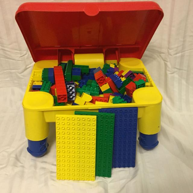 Best Lego Duplo Storage Table With Adjustable Legs for sale in ...