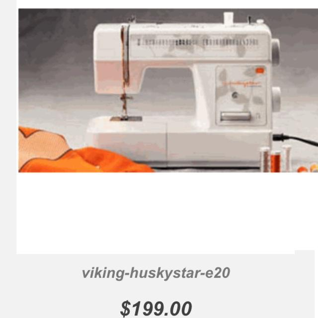 Like NEW Huskystar By Just Husqvarna Viking E40 Sewing Machine Mint Condition Selling For Discounted Price A Great Steal Adorable Husqvarna Sewing Machine Prices